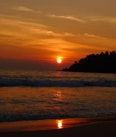 P1070182 O pôr do sol cingalês