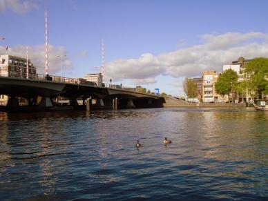 canal amsterdã