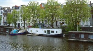 Nossa casa por 3 dias! Amsterdã numa casa barco