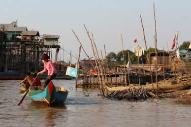 Floating village Cambodia