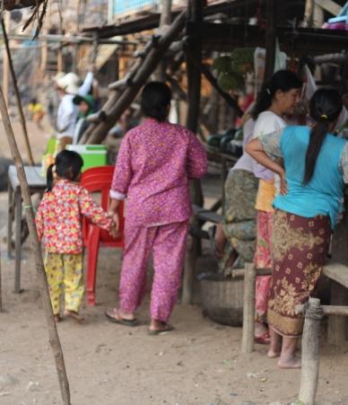 pijamas para todos no Camboja