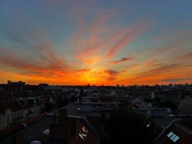 berlim sunset