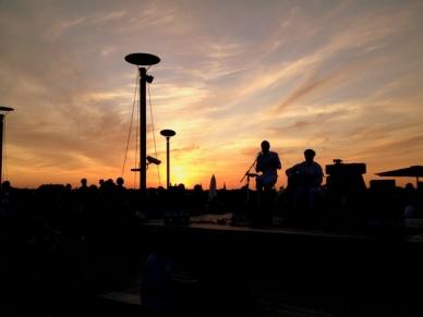berlim vista noite berlinense