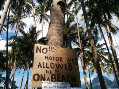Las Cabanas aviso