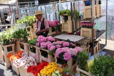 Columbia road Flower Market Mercado de Flores