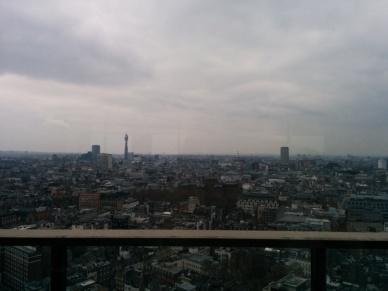 Galvin vista Restaurantes com vista em Londres