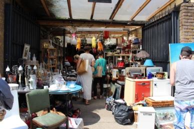 Loja de antiguidades Londres
